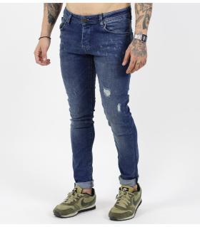 Παντελόνι jean ανδρικό damages B3435