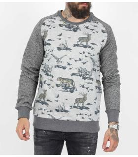 Μπλούζα φούτερ animals KE7285