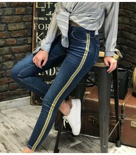Παντελόνι jean γυναικείο ψιλοκάβαλο ελαστικό ON10055