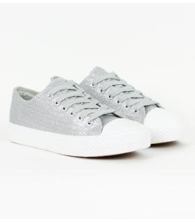 Sneakers γυναικεία γυαλιστερά 85311