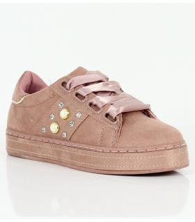 Sneakers γυναικεία κορδέλα AD781