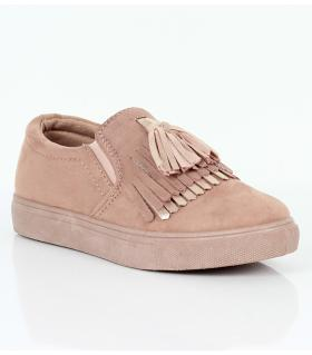 Loafers γυναικεία suede AM603