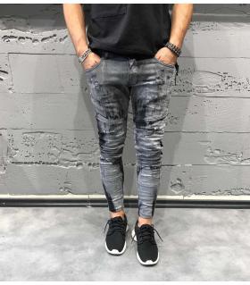 Παντελόνι jean dirty B3088