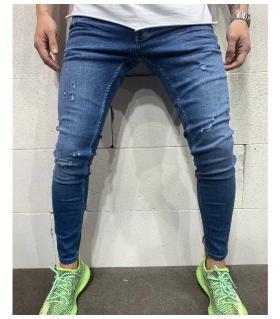 Παντελόνι jean ανδρικό slash B4986