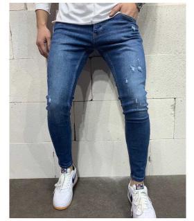Παντελόνι jean ανδρικό slash B4992