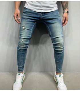 Παντελόνι jean ανδρικό slash B5470
