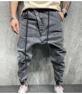 Παντελόνι jean ανδρικό baggy B6267