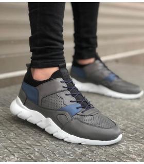 Sneakers ανδρικά με κορδόνια BA039