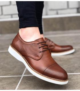 Ανδρικό παπούτσι με κορδόνια BA107