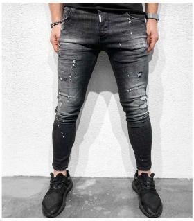 Παντελόνι jean ανδρικό damages BL1017