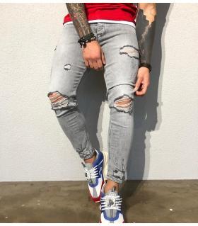 Παντελόνι jean ανδρικό slash BL1021