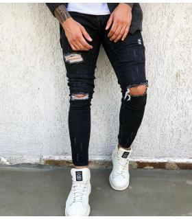 Παντελόνι jean ανδρικό slash BL1081