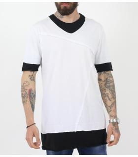Tshirt ανδρικό double colour BL11805