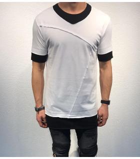Tshirt ανδρικό double colour BL11805
