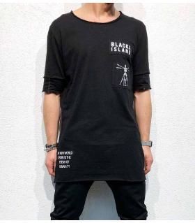 T-shirt ανδρικό long enemy of humanity BL11811