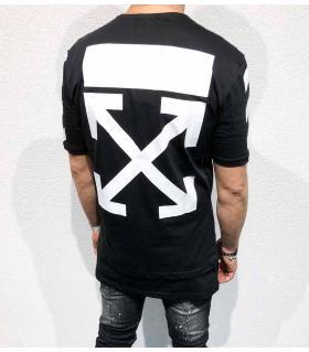 T-shirt ανδρικό big back print BL11830