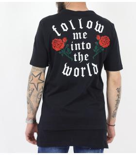 Tshirt ανδρικό roses BL11832