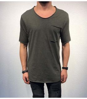 Tshirt ανδρικό με τσεπάκι dinos BL11835