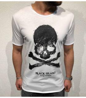 T-shirt ανδρικό -skull- BL11854