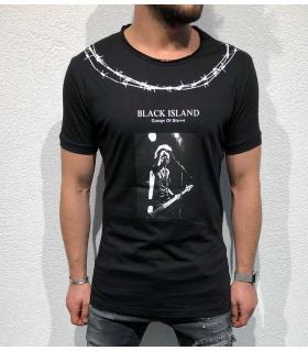T-shirt ανδρικό - guitar - BL11857