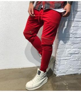 Παντελόνι φόρμας zips BL11879