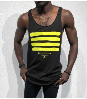 Αμάνικο ανδρικό Tshirt stripes BL11917
