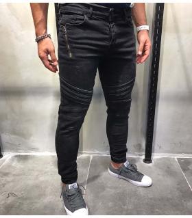 Παντελόνι jean zip BL1679