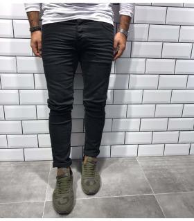 Παντελόνι jean ανδρικό Total Black BL1803
