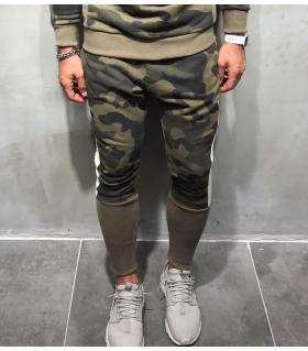 Παντελόνι φόρμα militaire & stripe BL18053