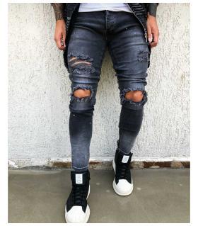 Παντελόνι jean ανδρικό slash BL1858