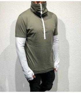 Μπλούζα ανδρική special collar BL22041