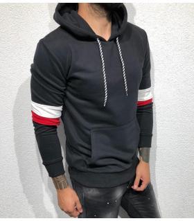 Μπλούζα φούτερ ανδρική με κουκούλα BL22060