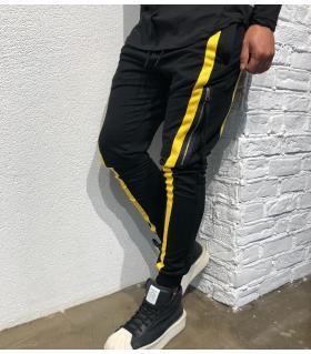 Παντελόνι φόρμας zips & stripe BL22061