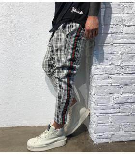 Παντελόνι ανδρικό καρό BL22066