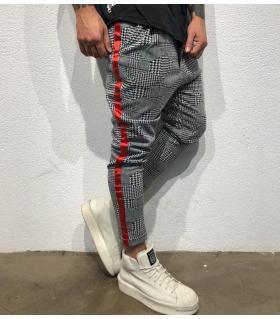 Παντελόνι ανδρικό stripes BL22067