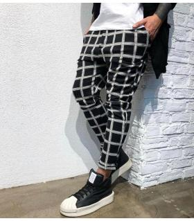 Παντελόνι ανδρικό καρό BL22074