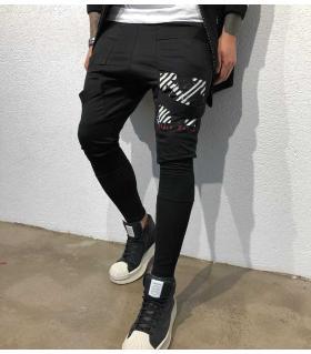 Παντελόνι φόρμα X με λάστιχο BL22077