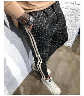 Παντελόνι ανδρικό 2-stripes BL22091