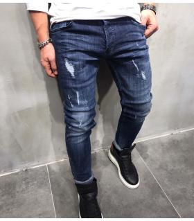 Παντελόνι jean ανδρικό damages BL3149