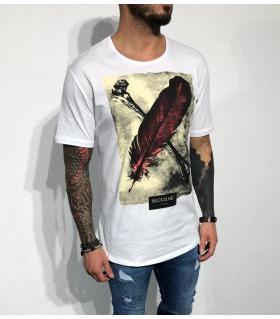 T-shirt ανδρικό -feather- BL31915