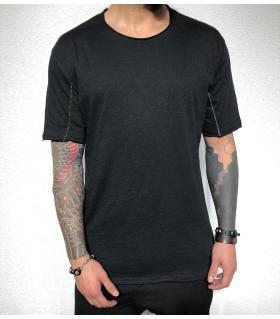 T-shirt ανδρικό μονόχρωμο ραφές BL31937