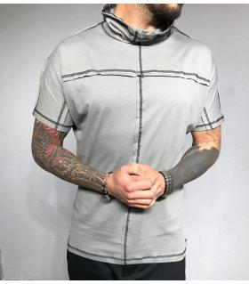 T-shirt ανδρικό μονόχρωμο εξώραφα BL31960
