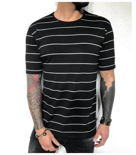 T-shirt ανδρικό stripes BL31968