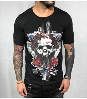 T-shirt ανδρικό -skull- BL31977