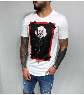T-shirt ανδρικό -one rose- BL31991