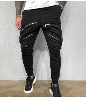 Παντελόνι φόρμα zips & pockets BL31999