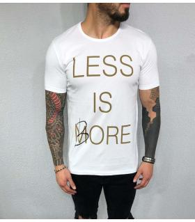 T-shirt ανδρικό - less is bore - BL32031