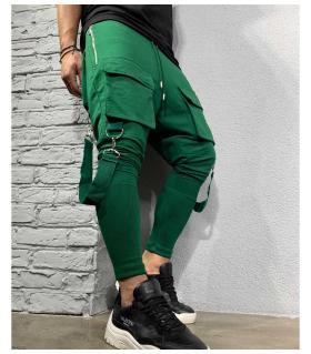 Παντελόνι φόρμα zip & pockets με λάστιχο BL32101