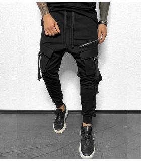 Παντελόνι φόρμα belts & pockets BL32332