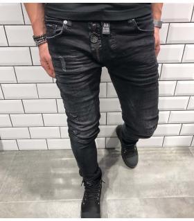 Παντελόνι jean ανδρικό big zip BL3234